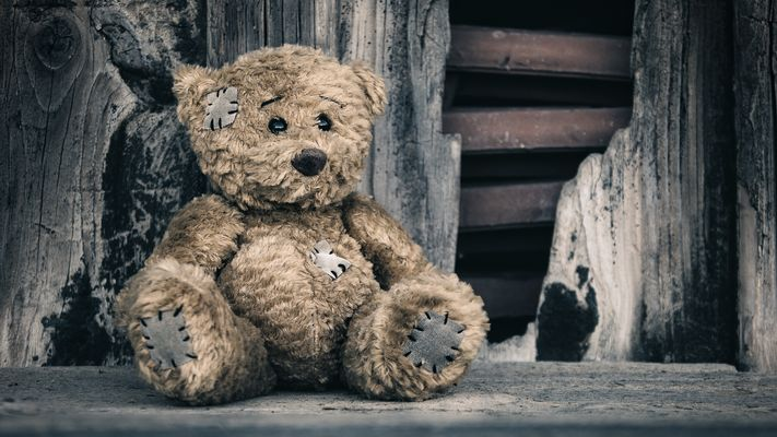 My little sad friend Patch