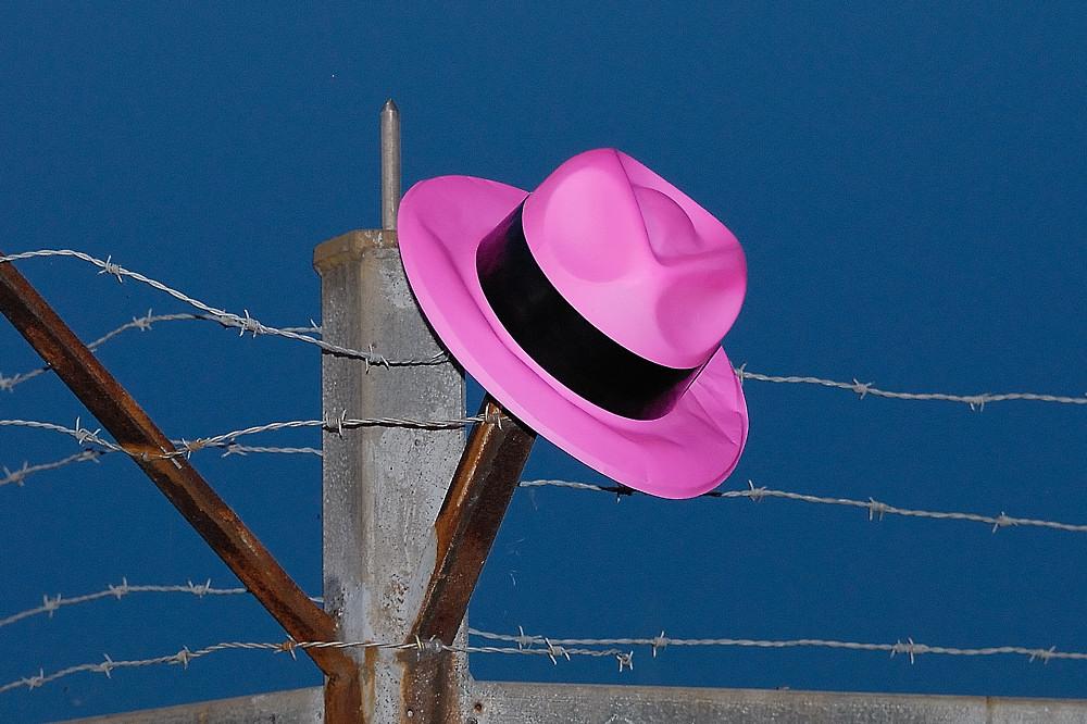 my pink hat
