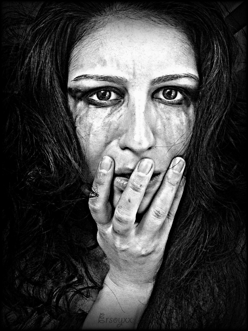 My silence is just another word for my pain..