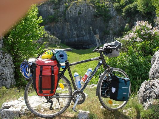 my touring bicyclet