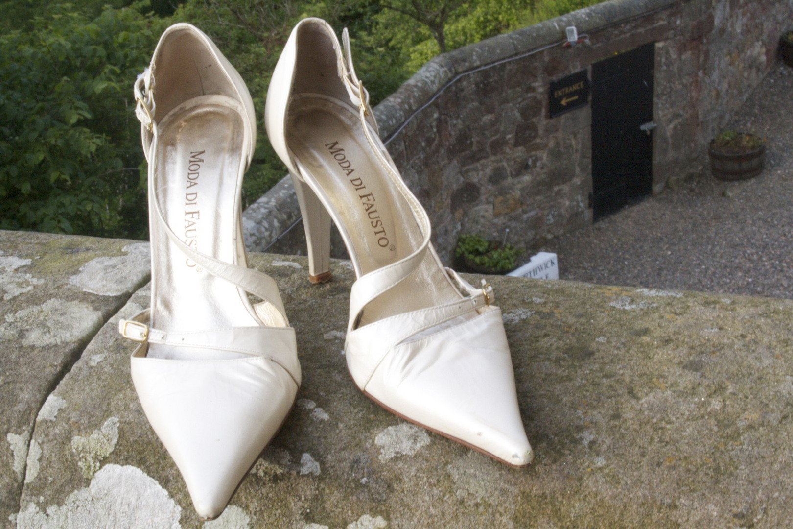 My wedding shoes...