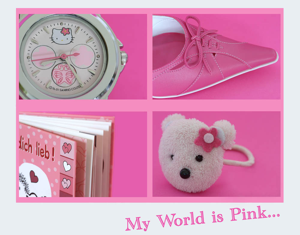 My World is Pink....