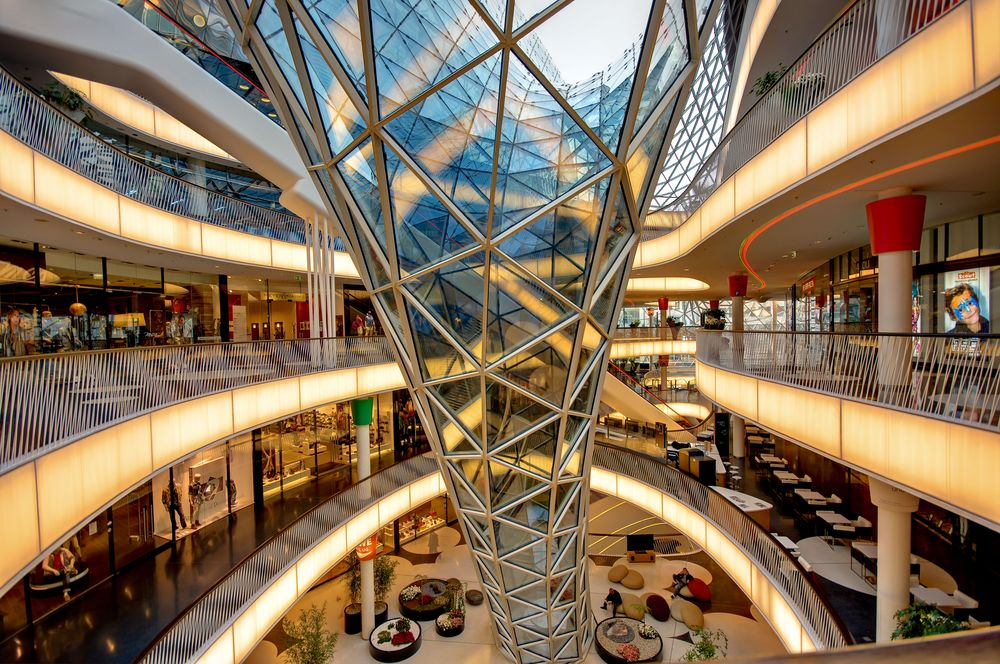 my zeil in frankfurt main foto bild deutschland europe hessen bilder auf fotocommunity. Black Bedroom Furniture Sets. Home Design Ideas