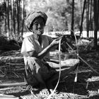 Myanmar - Bambusbearbeitung