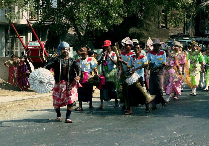 Myanmar Dance