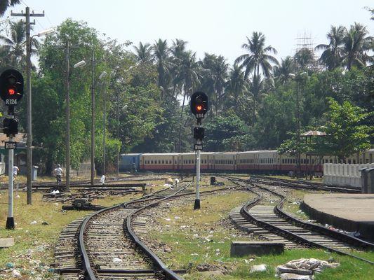 Myanmar railway