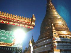 Myanmar- von Gold & Sonne geblendet
