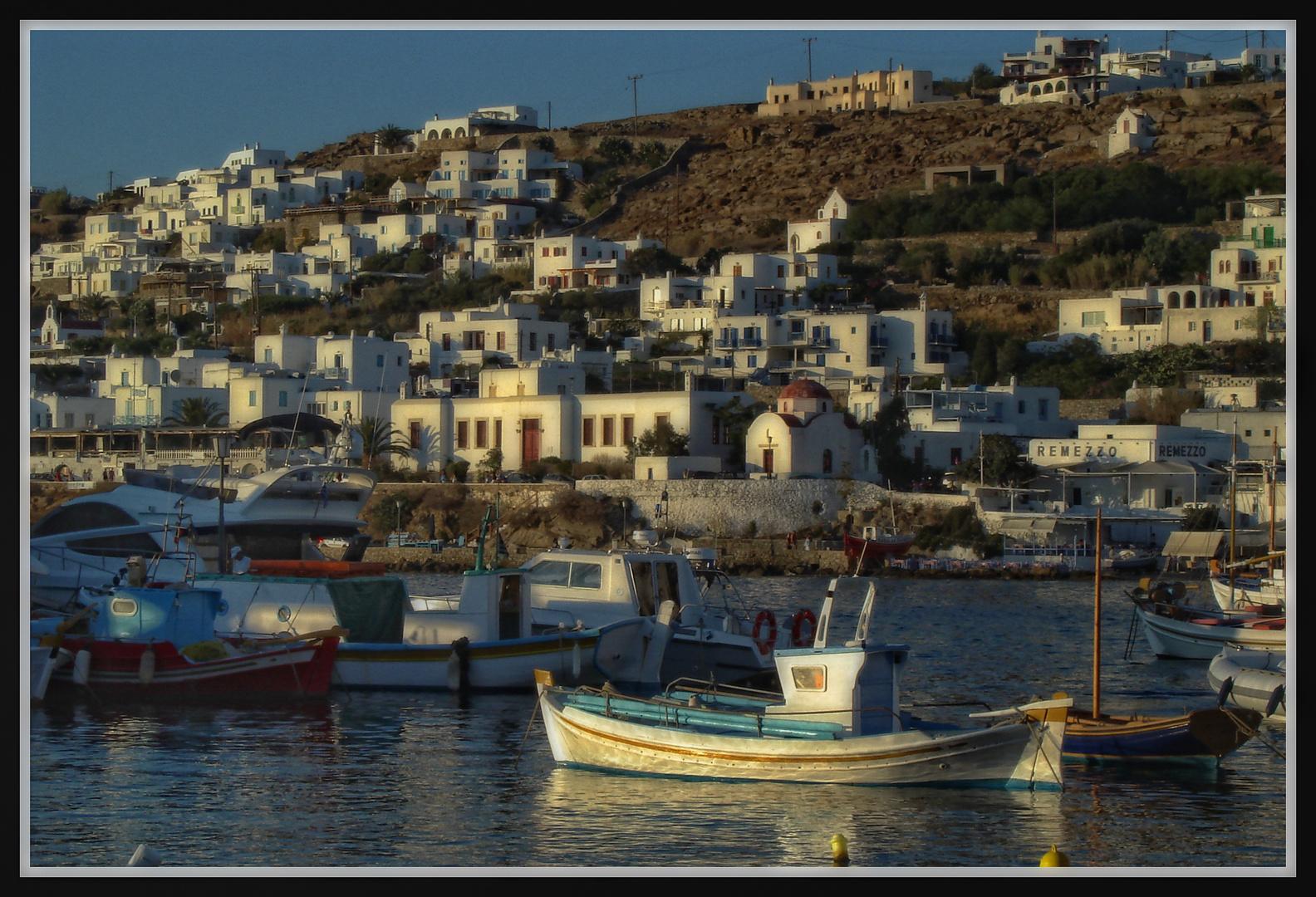 Mykonos - Am Hafen