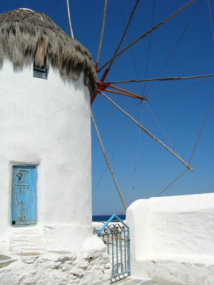 Mykonos, Insel der Mühlen