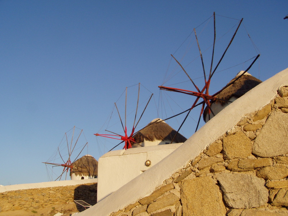 Mykonos - Mulini a vento