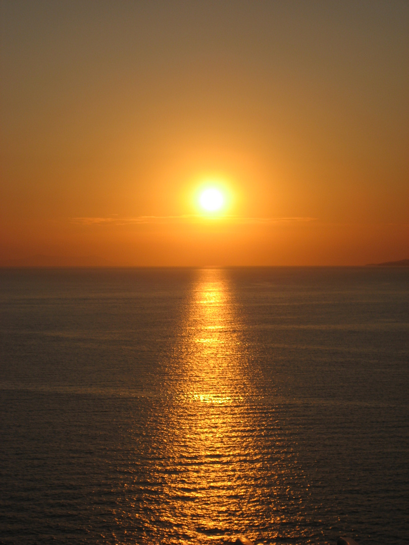 Mykonos Sonnenuntergang