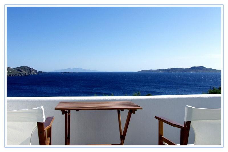 Mykonos - Zimmer mit Aussicht