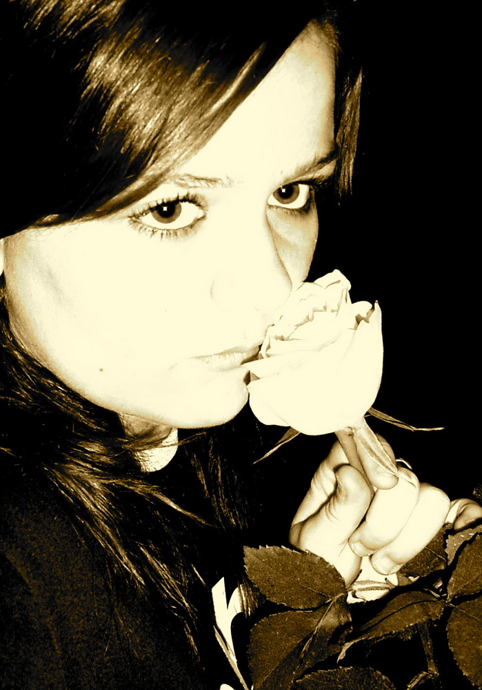 myself and the rose..