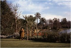 Myself in Citadel Park. Barcelona.