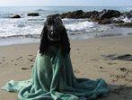 Myself nach dem Baden im Meer ...