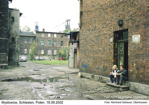 Myslowice, Oberschlesien, Polen, KWK, Kolonie, 2002