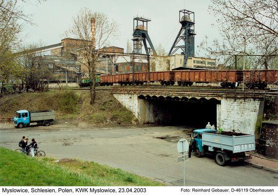 Myslowice, Oberschlesien, Polen, KWK Myslowice, 2003