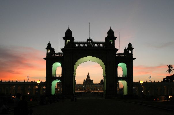 Mysore Palast Südindien