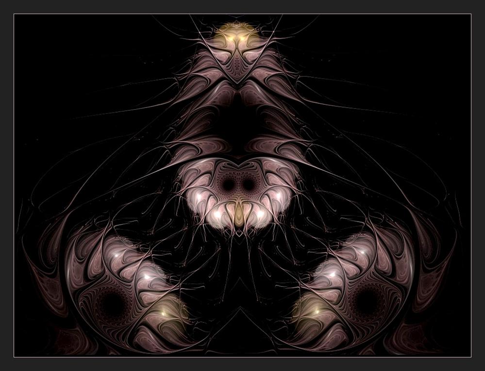 ... mysteriöse außerirdische Wesen ...