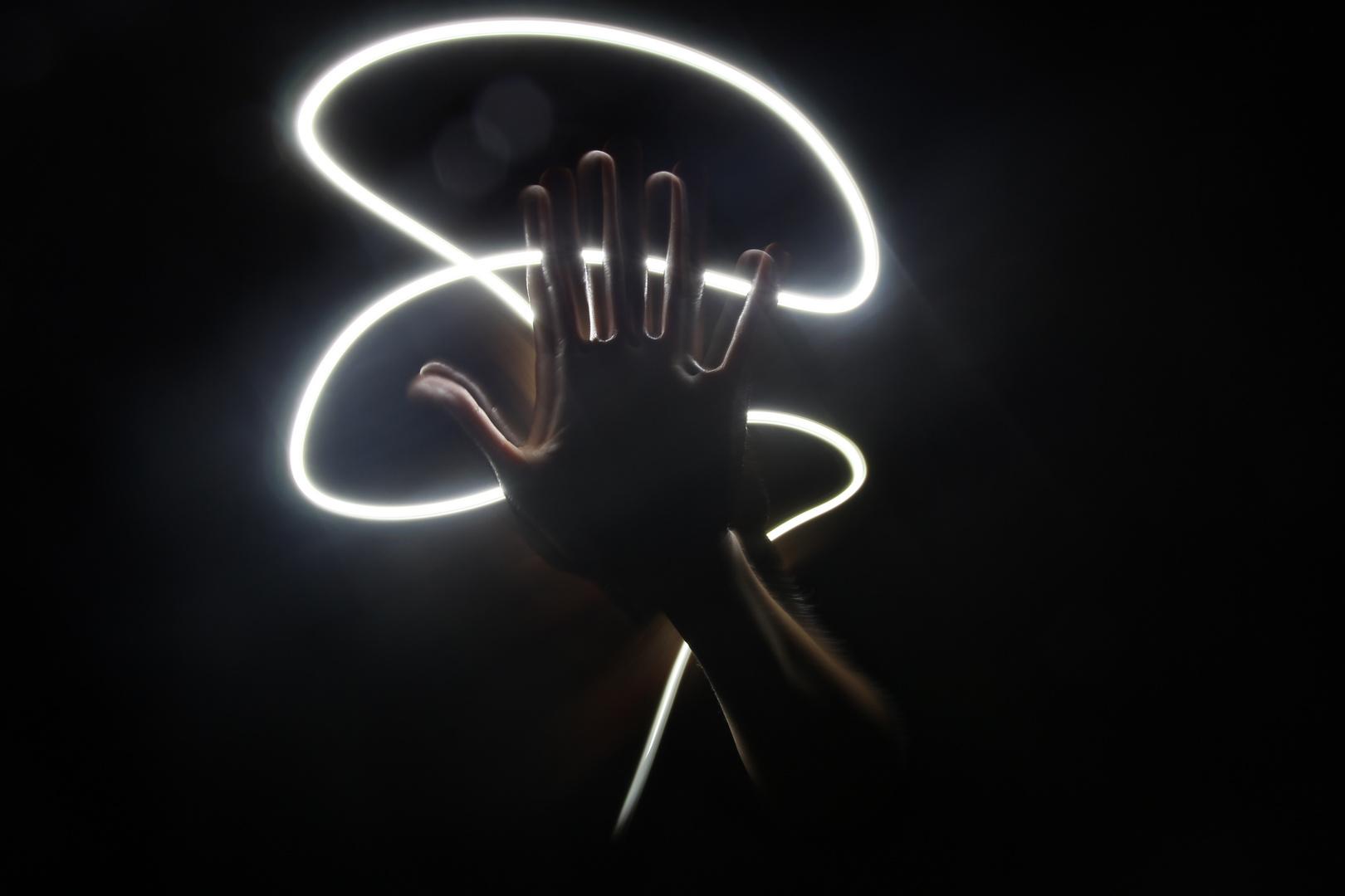 Mysteriöse Hand