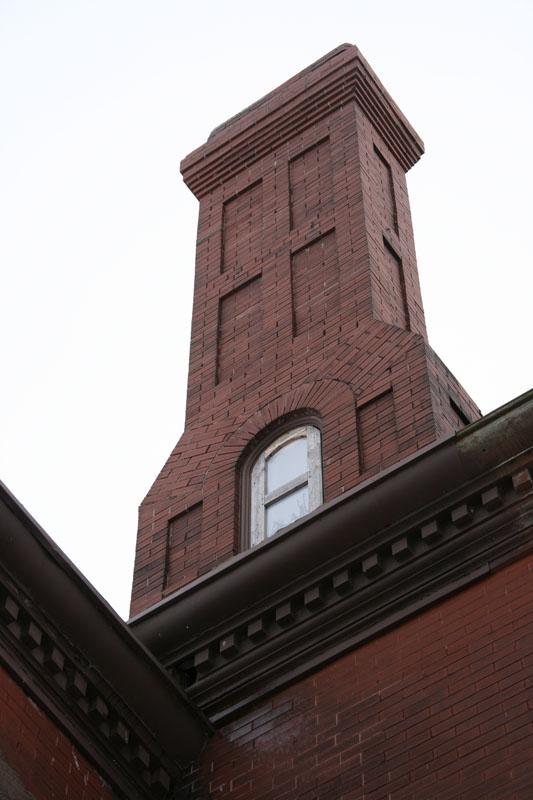 Mystery Chimney Window ?