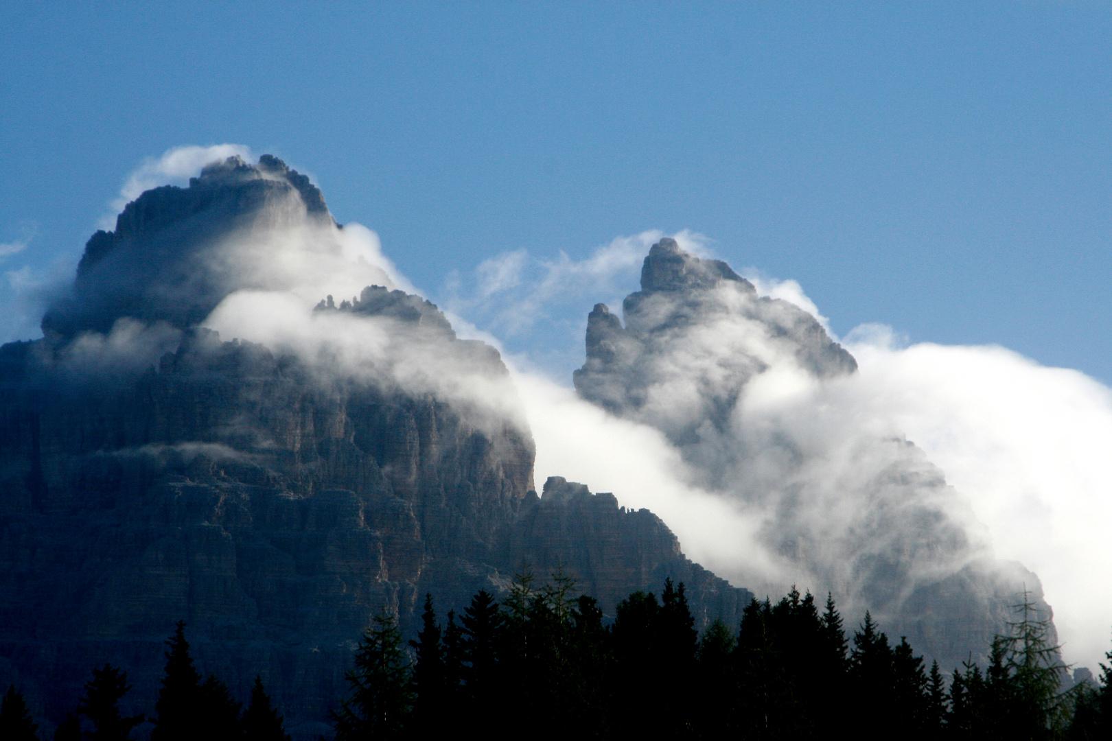 Mystische Berge in Südtirol