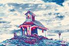 mystische Bergkapelle