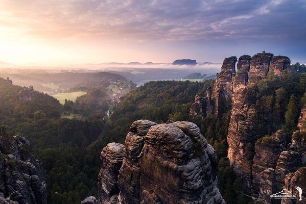 Mystische Felsenwelt