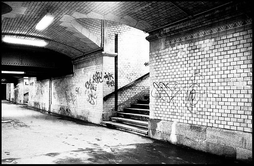 Mystischer Bahnhofstunnel