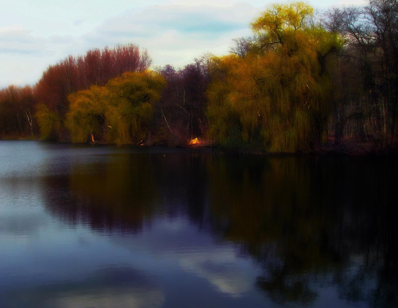 Mystischer Herbst am Ewaldsee