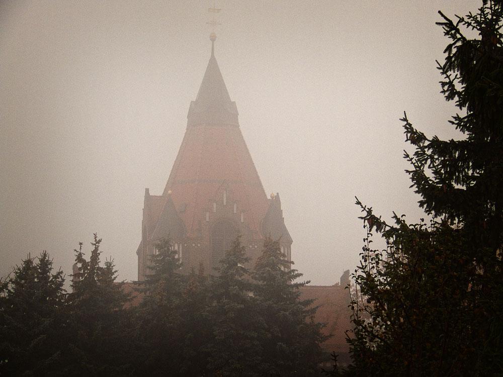 Mystischer Novembermorgen