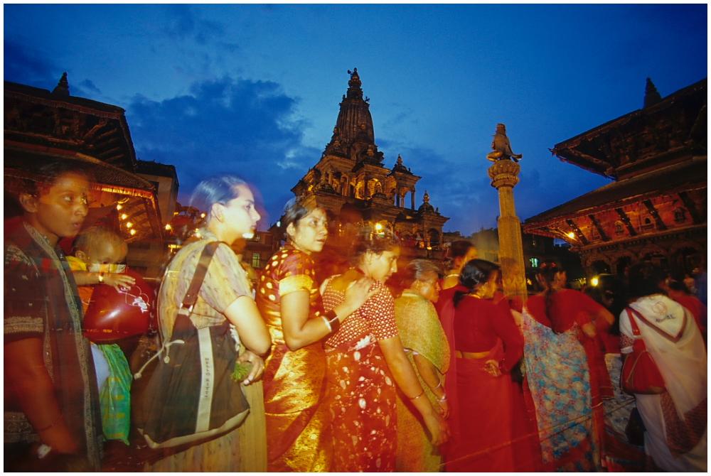 Mystisches Nepal-Krishnashtami Fest am Patan Durbar Square 01