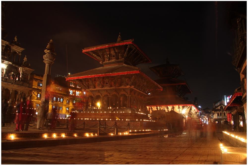 Mystisches Nepal-Patan Durbar Square 01