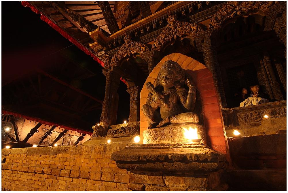 Mystisches Nepal-Tempel am Patan Durbar Square