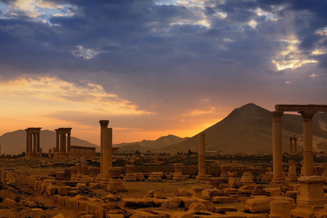 Mystisches Palmyra