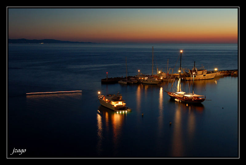 Mytilini island-Molyvos port