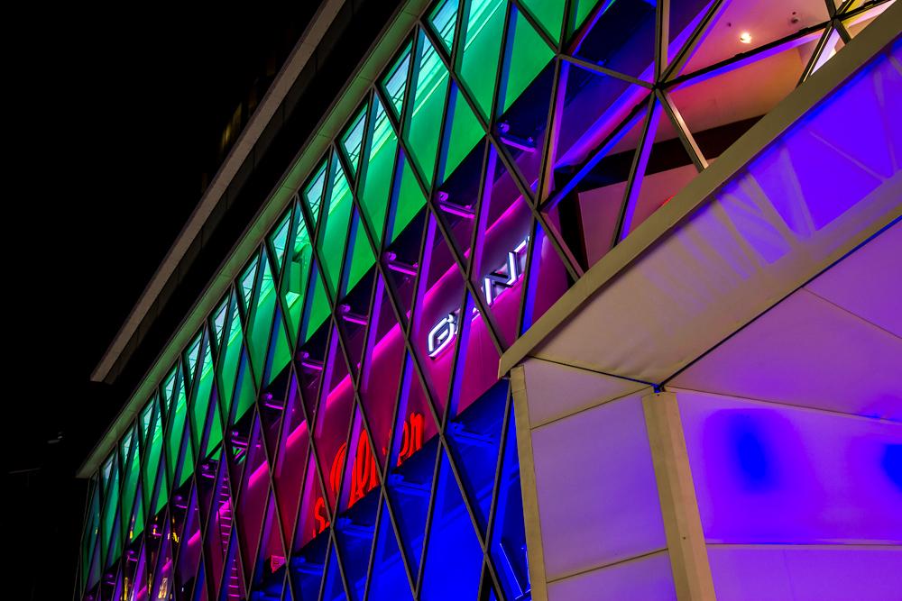 MyZeil während der Luminale 2012