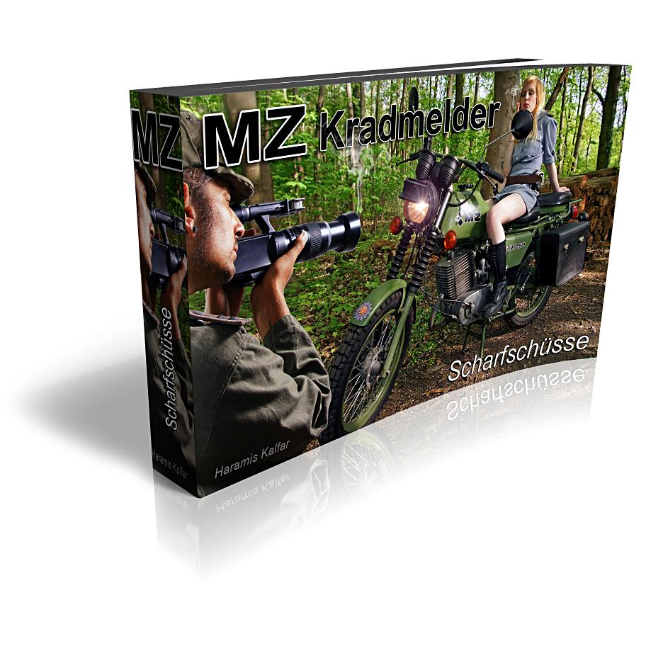 MZ Kradmelder - Scharfschüsse mit TS und ETZ 250 A