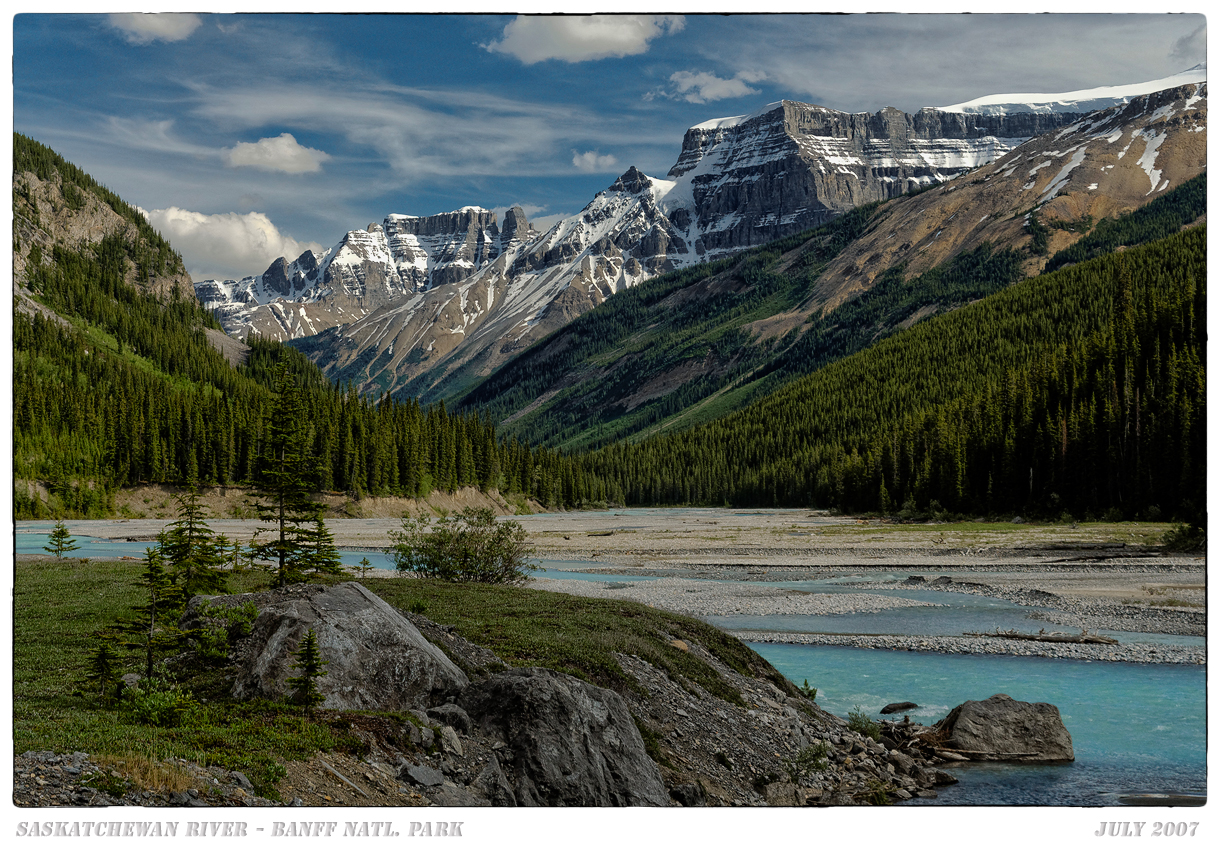 N. Saskatchewan River in Banff N.P.