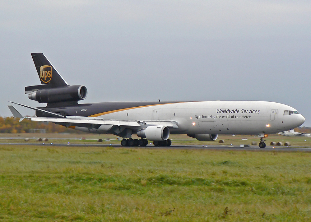 N272UP arriving rwy 32R CGN/EDDK