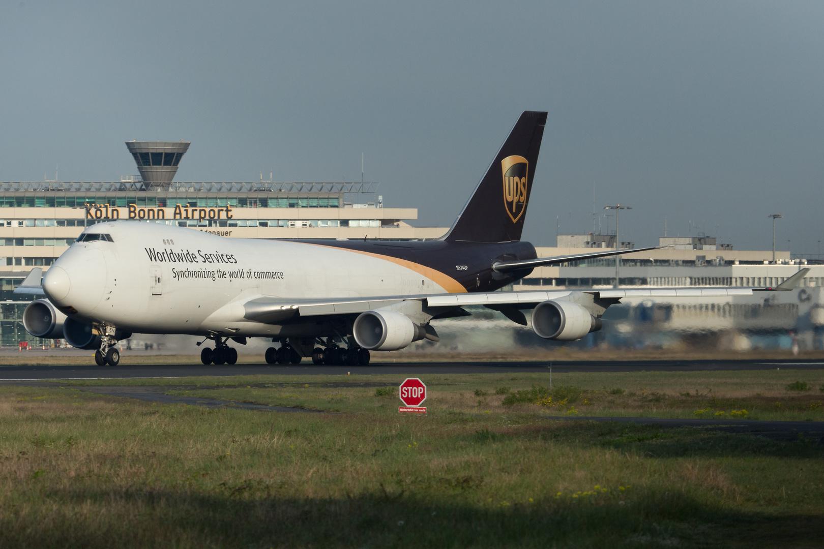 N574UP - Boeing 747-44AF - United Parcel Service (UPS)