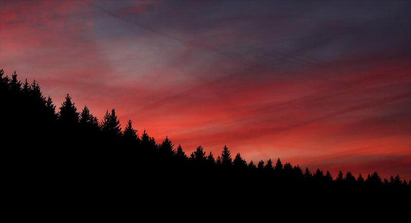 Na ja Sonnenuntergang halt :-)