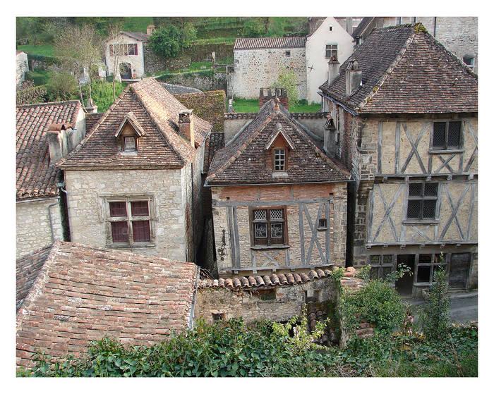 Na und nochmals ein sprung ins land der french-men, niedliche häuser aber