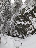 Nabetal unterhalb des Wasserfalls