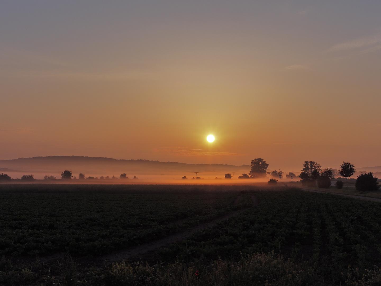 Nach Auflösung der Nebelfelder..