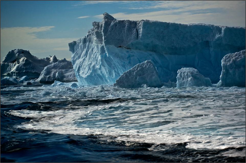 nach dem bersten des eisbergs