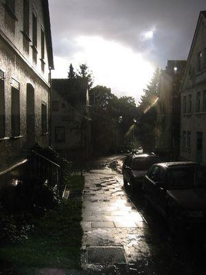 Nach dem großen Regen