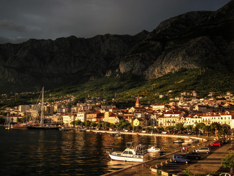Nach dem Regen - Makarska Kroatien
