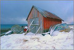 Nach dem Schneesturm