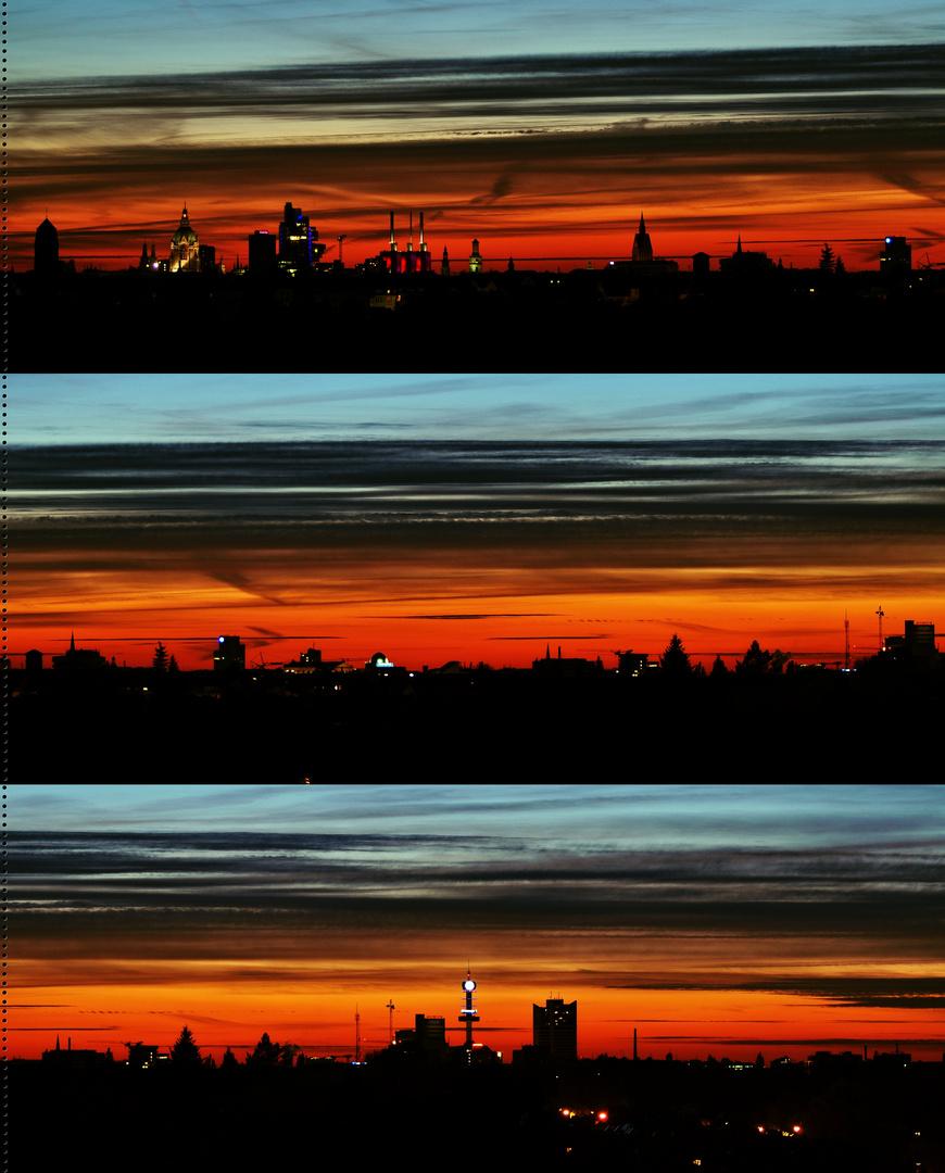 Nach dem Sonnenuntergang .. 16.04.14